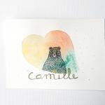 Camille et l'ours